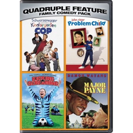 Family Comedy Quadruple Feature (DVD) (Best Comedies For Kids)