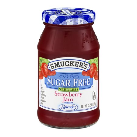 Smuckers Sugar Free Jam Seedless Strawberry  12 75 Oz