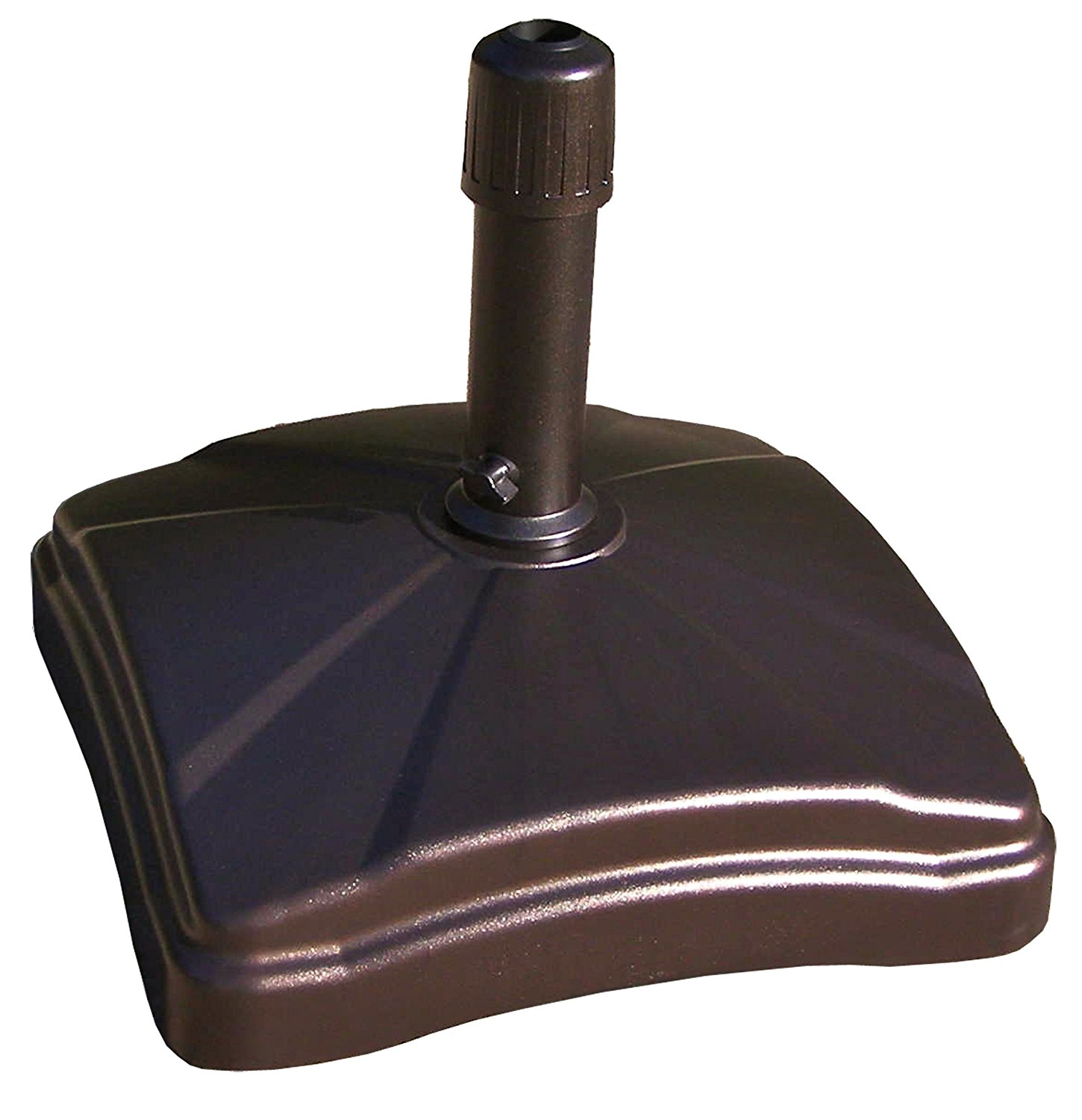 Shademobile Rolling Umbrella Base, Black