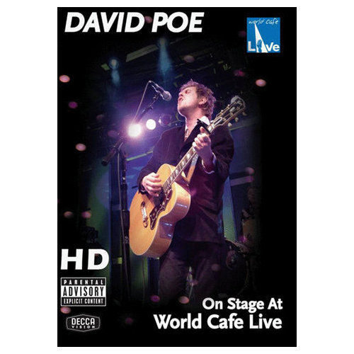 David Poe: On Stage at World Cafe Live (2007)