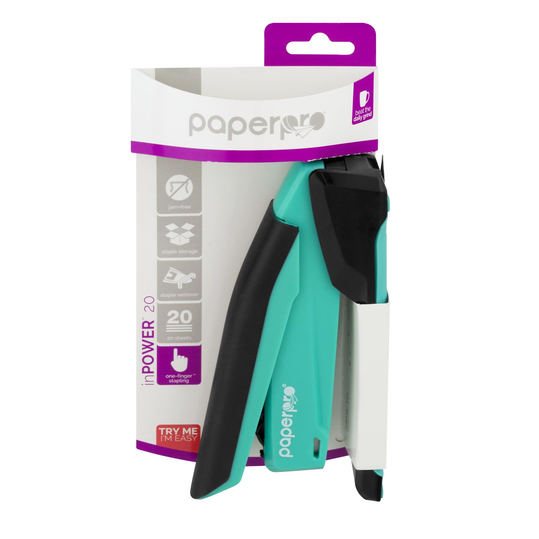 PaperPro inPOWER 20 Desktop Stapler, Assorted Colors