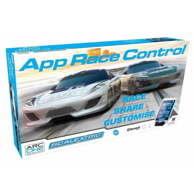 Scalextric C1329T App Race Control 1-32 ARC One Slot Car Race Set, Age 8 Plus