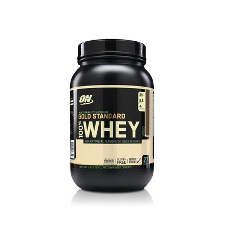 Optimum Nutrition Gold Standard 100% Whey Protein Powder, Naturally Flavored Chocolate, 24g Protein, 1.9 (Best Way To Build Muscle Naturally)