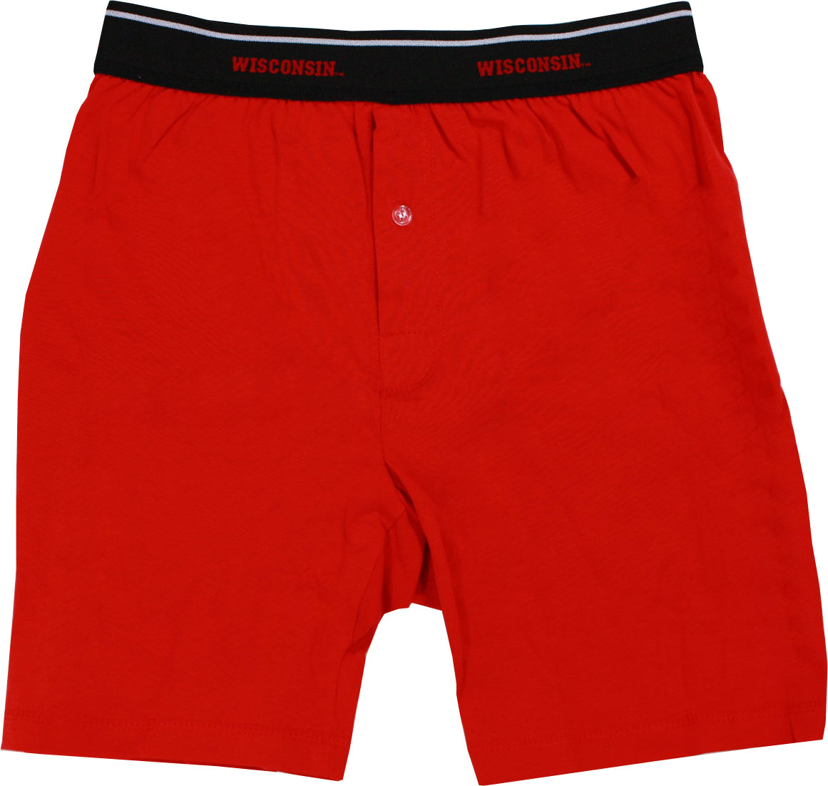 Wisconsin Badgers Men's Red Boxer Briefs by Colony