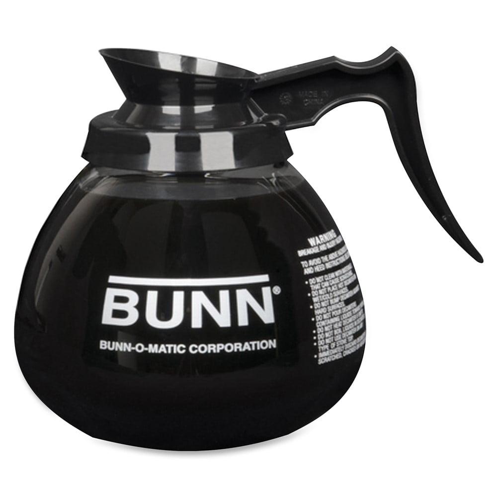 BUNN 12-Cup Glass Coffee Decanter 42401.0101 Orange