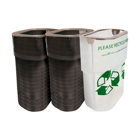 Party City Clean-Up Kit, 3 Pieces, With Matching Reusable Pop-Up Trash Bins, Plus a Handy Recycling Bin](Party City Whitehall)