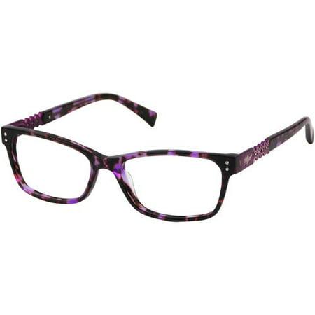 Apple Bottoms Women's Prescription Glasses, Purple