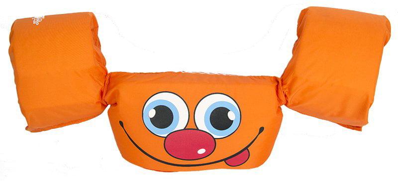 New! COLEMAN Stearns Kids Puddle Jumper Basic Orange Swimming Life Jacket Vest by COLEMAN
