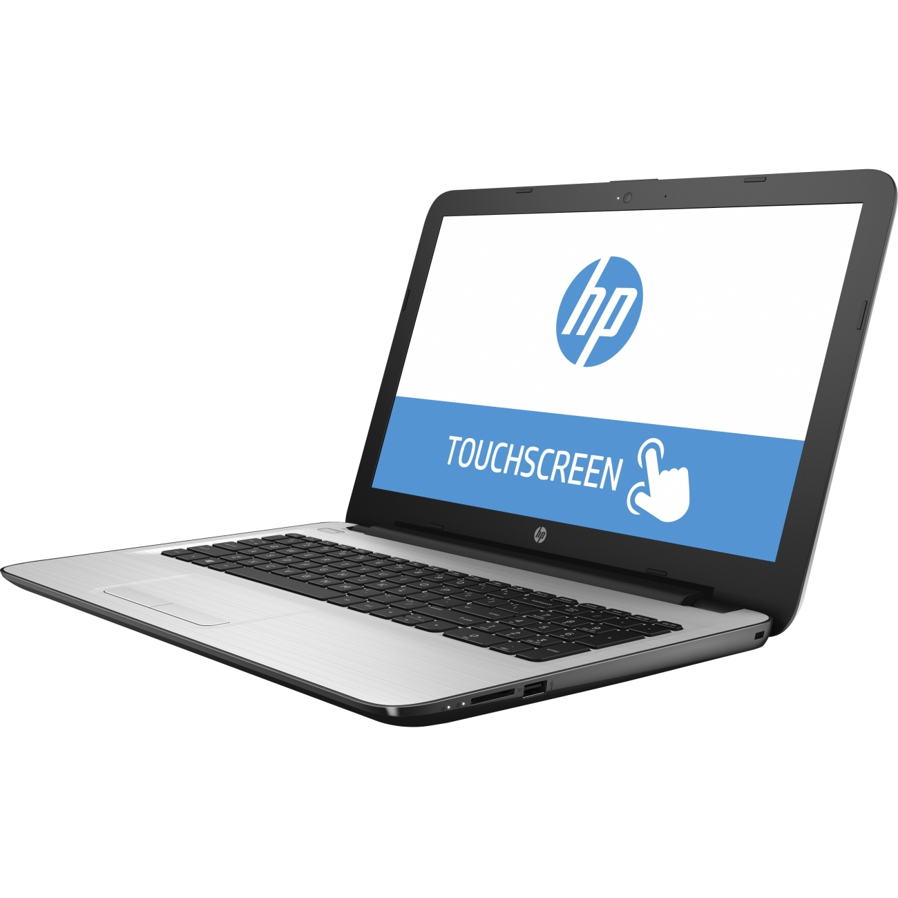 "Hp 15-ba000 15-ba083nr 15.6"" Touchscreen Notebook - Amd A-series A8-7410 Quad-core [4 Core] 2.20 Ghz - White - 4 Gb Ram - 1 Tb Hdd - Amd Radeon R5 Graphics - Windows 10 Home - 1366 X 768 (x0h93ua-aba)"