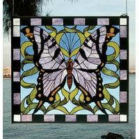 Meyda Tiffany 46464 Tiffany Glass Stained Glass Tiffany Window From The Garden Friends