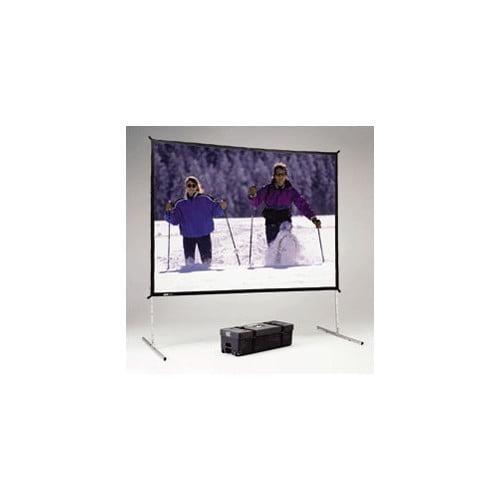 Da-Lite Fast Fold Deluxe Black Portable Projection Screen