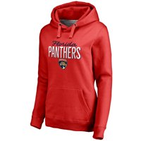 Florida Panthers Women's Nostalgia Pullover Hoodie - Red