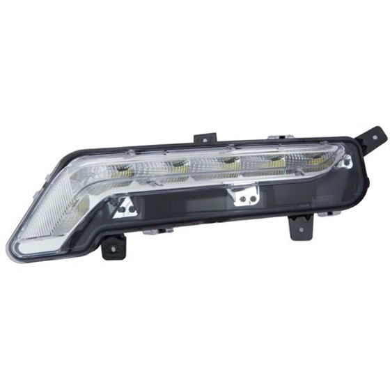 Compatible 2017 Chevrolet Impala Limited Driving Light Left Driver Side 22931247 Gm2562102 Replacement For