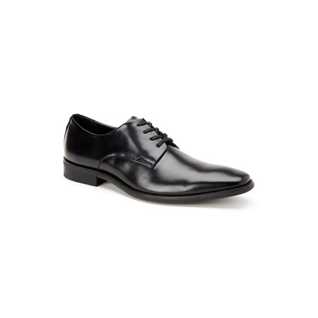 Ramses Box Textured Leather Dress Oxfords