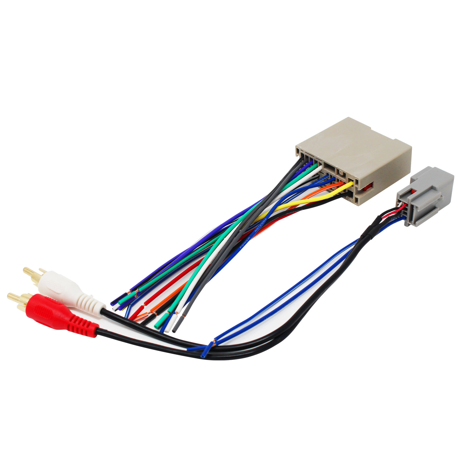 2-Pack Replacement Radio Wiring Harness for 2007 Ford Focus SE Wagon 5-Door 2.0L - Car Stereo Connector - image 3 of 4