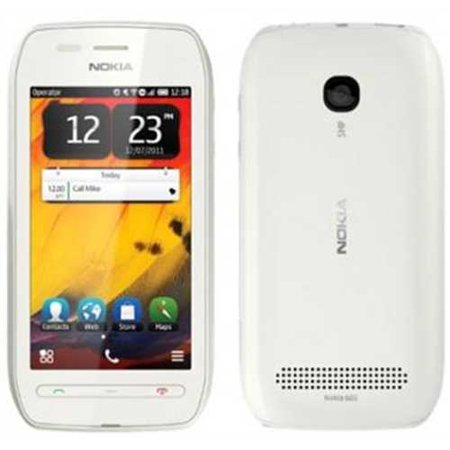 Refurbished Nokia 603 Unlocked Gsm Belle Os 3G Touchscreen Smartphone   White