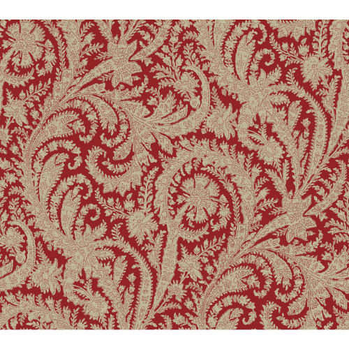 York Wallcoverings HO330-1 Archive 60 3/4 Sq. Ft. Paisley Pre-Pasted Surestrip Wallpaper from the Tailored Collection