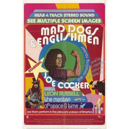 Posterazzi MOV247883 Mad Dogs & Englishmen Movie Poster - 11 x 17 in. - image 1 of 1