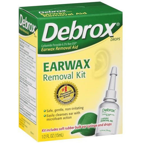 Debrox Earwax Removal Kit, .5 OZ (Pack of 4)