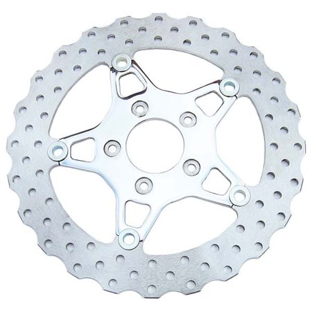 EBC FSD012C Custom Stainless Steel Wide Band Floating Contour Front Brake Rotor for 2000+ (Wide Band Custom Peg)