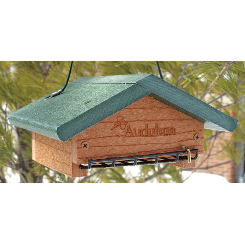 Audubon/Woodlink Go Green Bottom Hopper Bird Feeder
