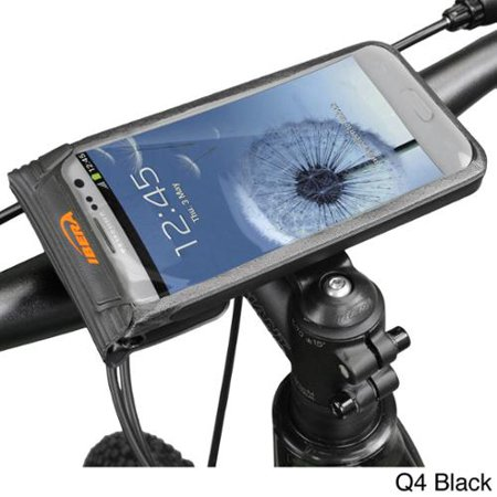 wholesale dealer 615de b4033 Ibera Bike Black/White Waterproof Phone Case Mount Q4 Black ...