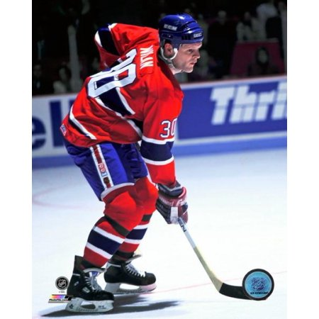 Chris Nilan Action Photo Print