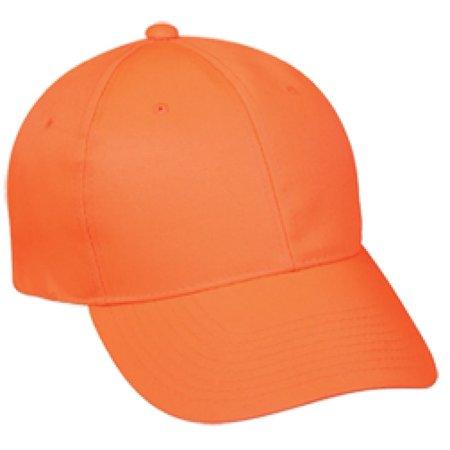 Outdoor Cap Company Youth Solid Blaze Orange Cap ()