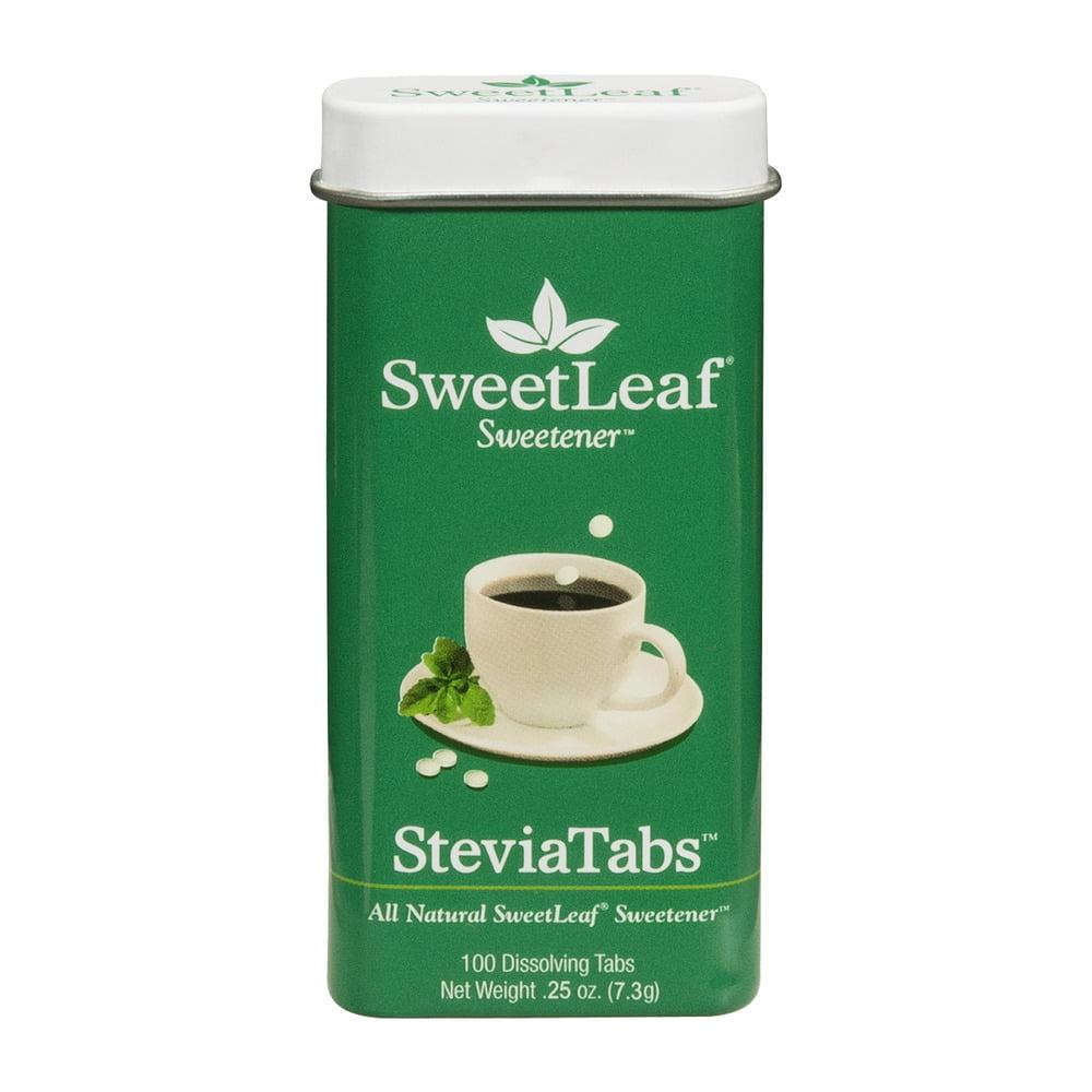 Sweet Leaf Stevia Tabs Sweetener - 100 CT