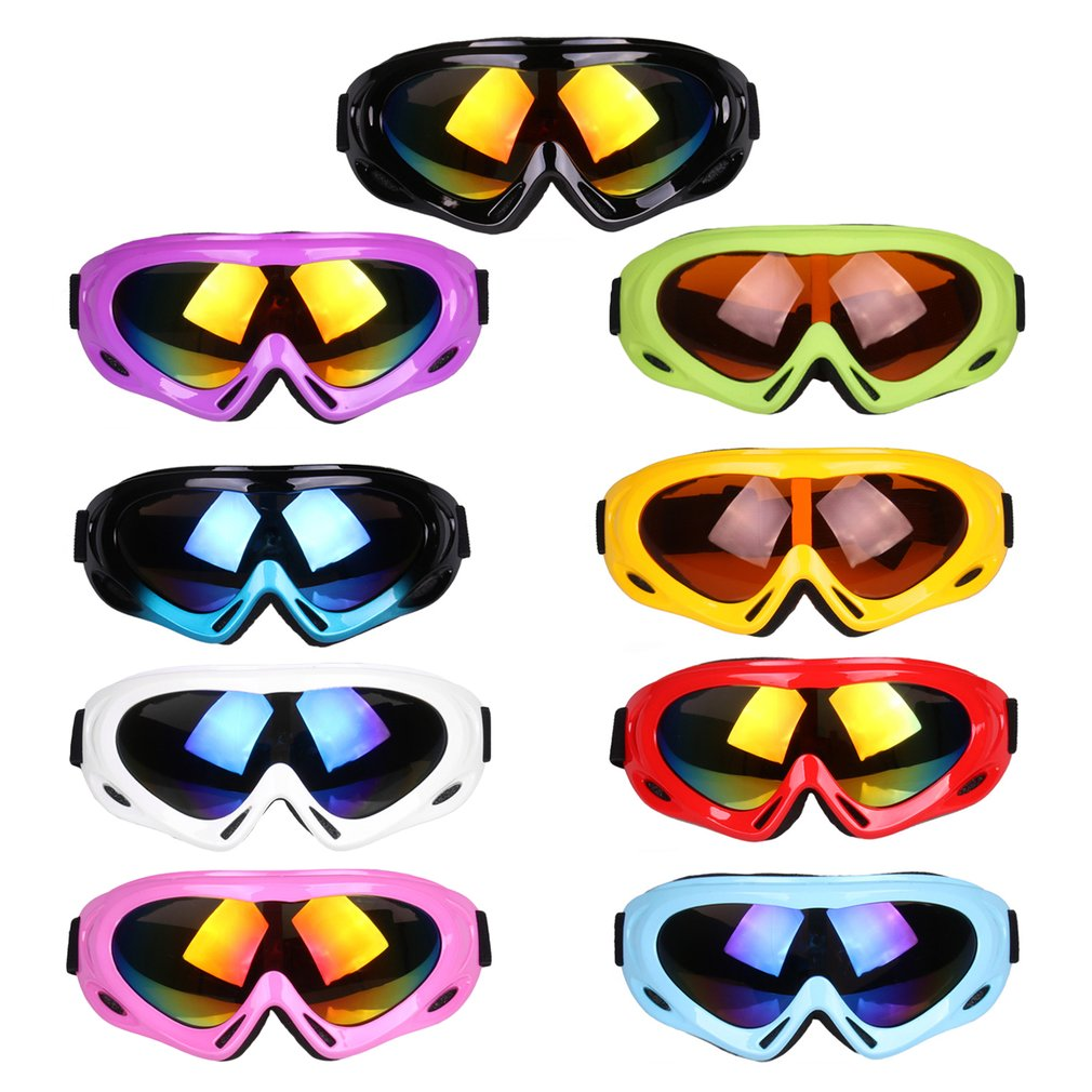 Unisex Anti-fog Ski Glasses TS-008 Windproof Ski Goggles Anti-sand Ski Glasses Snowboard Eyewear For Outdoor Activities by