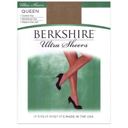 (Berkshire Queen Ultra Sheers Control Top Pantyhose)