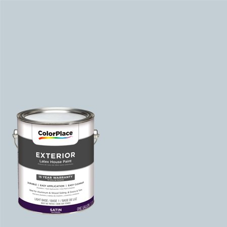 ColorPlace Exterior Paint, Fostoria Glass Blue, #90BG 63/043