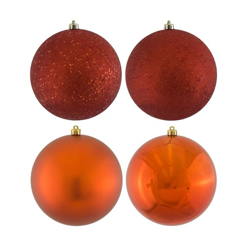 The Holiday Aisle Assorted Ball Ornament (Set of 16)