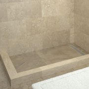 "Tile Redi RT3048RDL-PVC-SQ Redi Trench 30"" X 48"" Rectangular Shower Base"