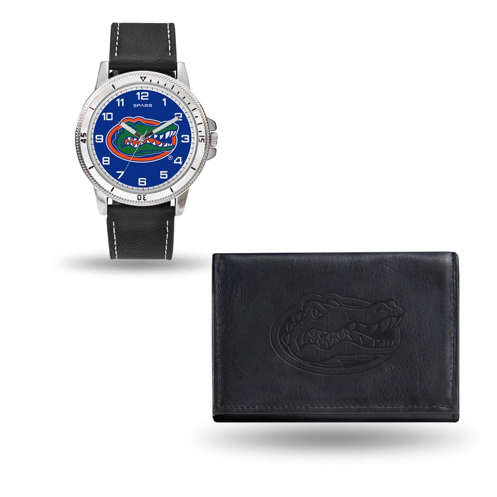 Florida Black Watch and Wallet Gift Set