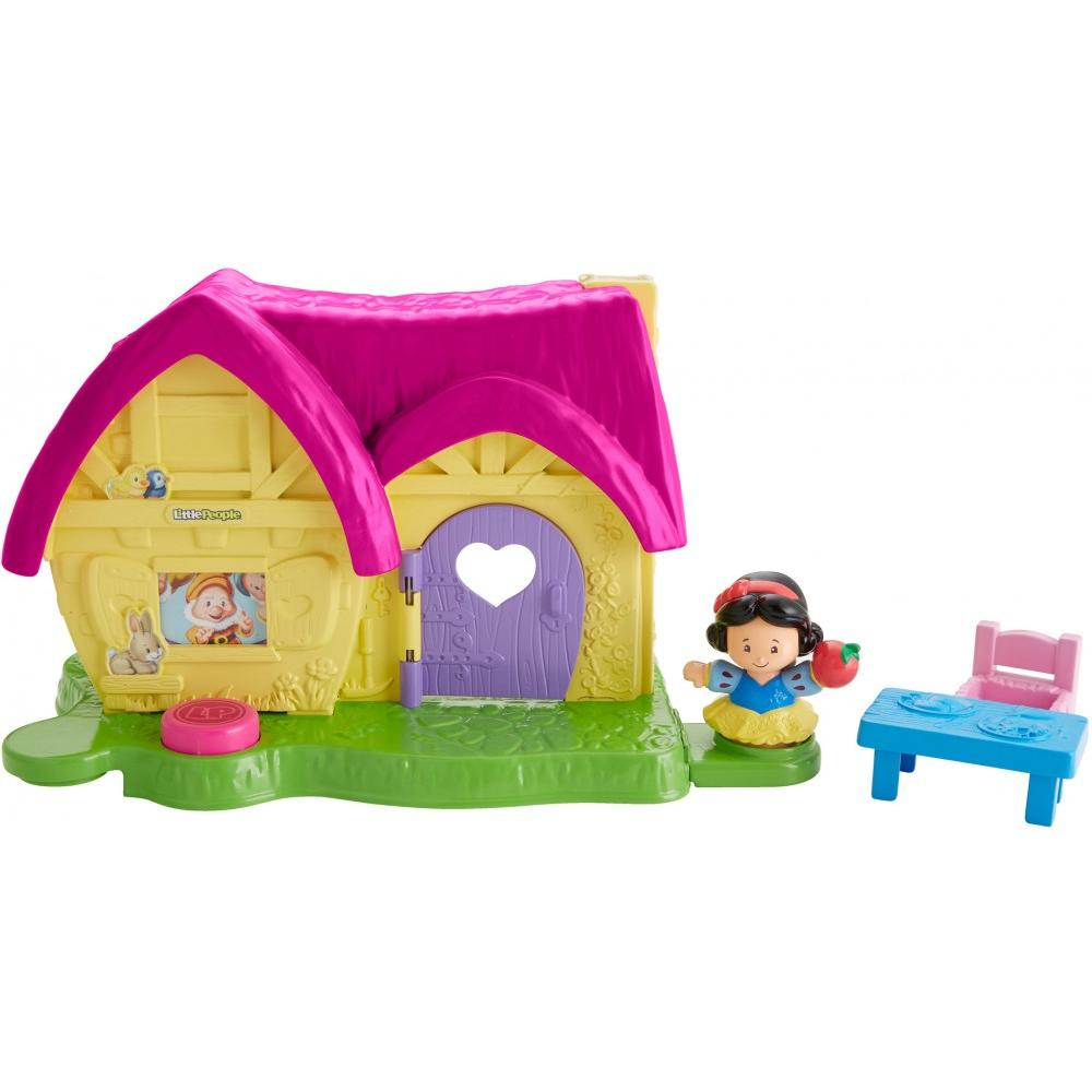 Disney Princess Snow White's Kindness Cottage by Fisher Price Little People by Fisher-Price