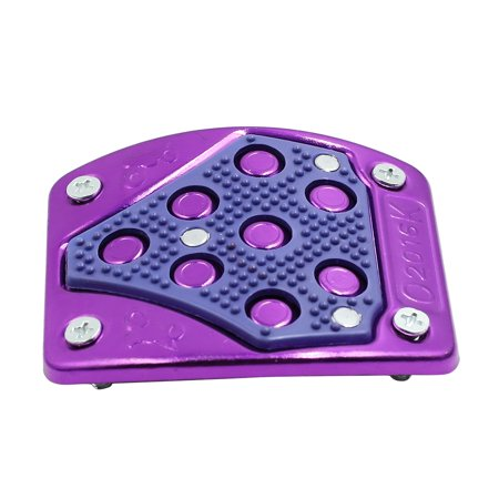 Purple Aluminium Alloy Nonslip Motorcycle Footrest Foot Peg Brake Pedal Pad - image 2 of 3