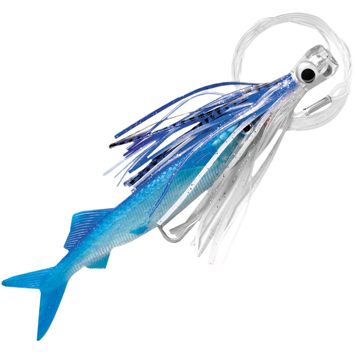 Williamson Live Ballyhoo Combo Rig Fishing Lure - 10.5""