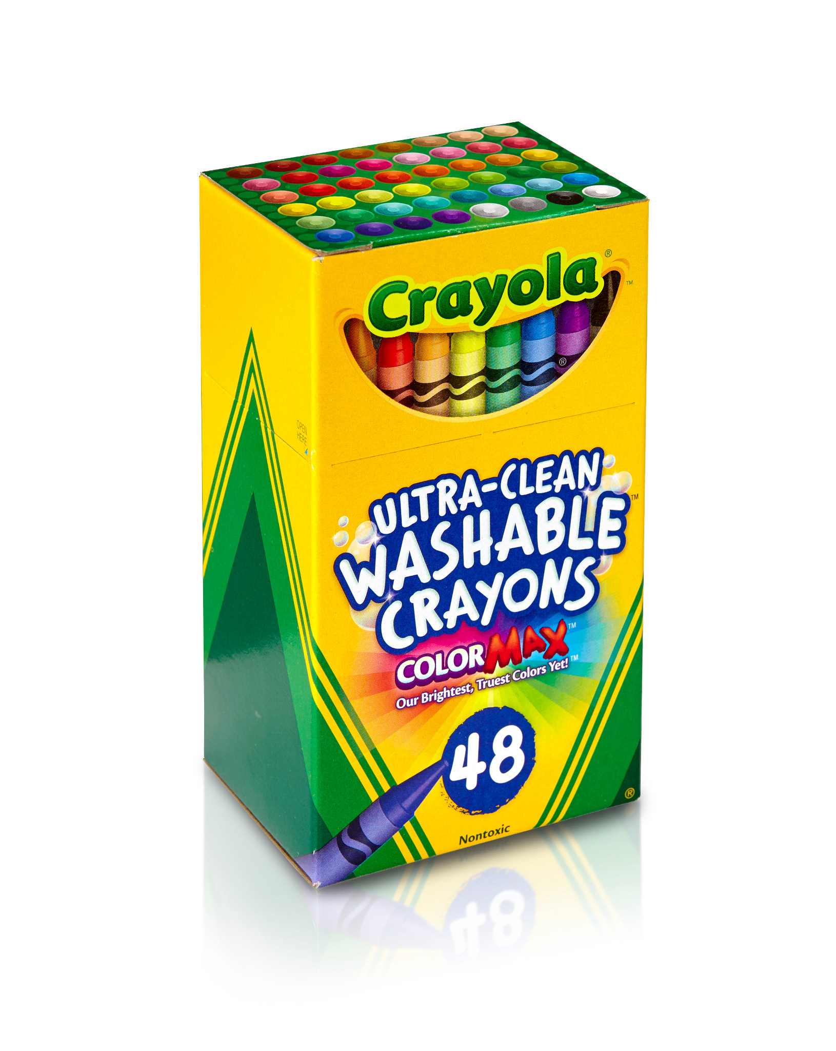 Crayola Ultra Clean Washable Crayons 1-Pack of 48