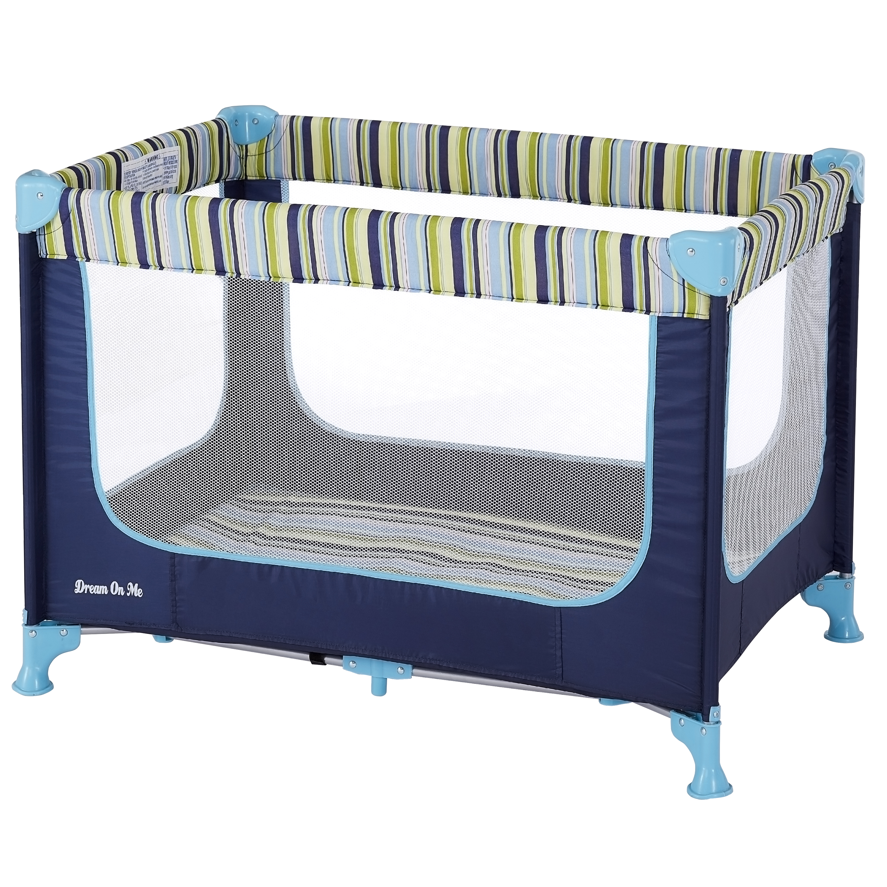 Dream On Me Zodiak Portable Play Yard - Navy