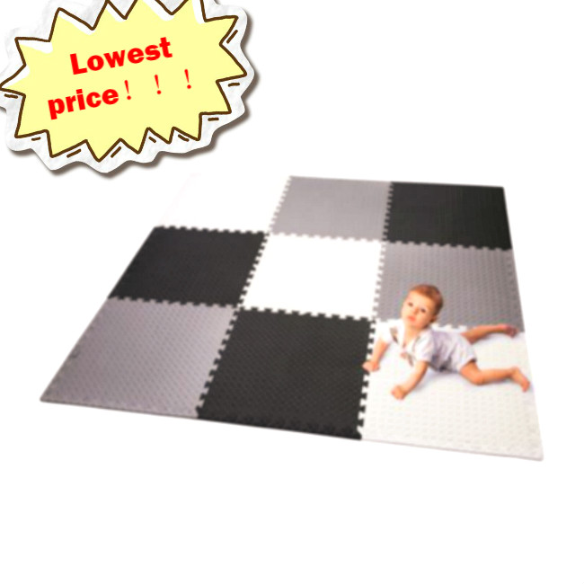 Portable Kids Play Mat Foam Floor Gym Patchwork for Outdoor or Indoor Use Elec