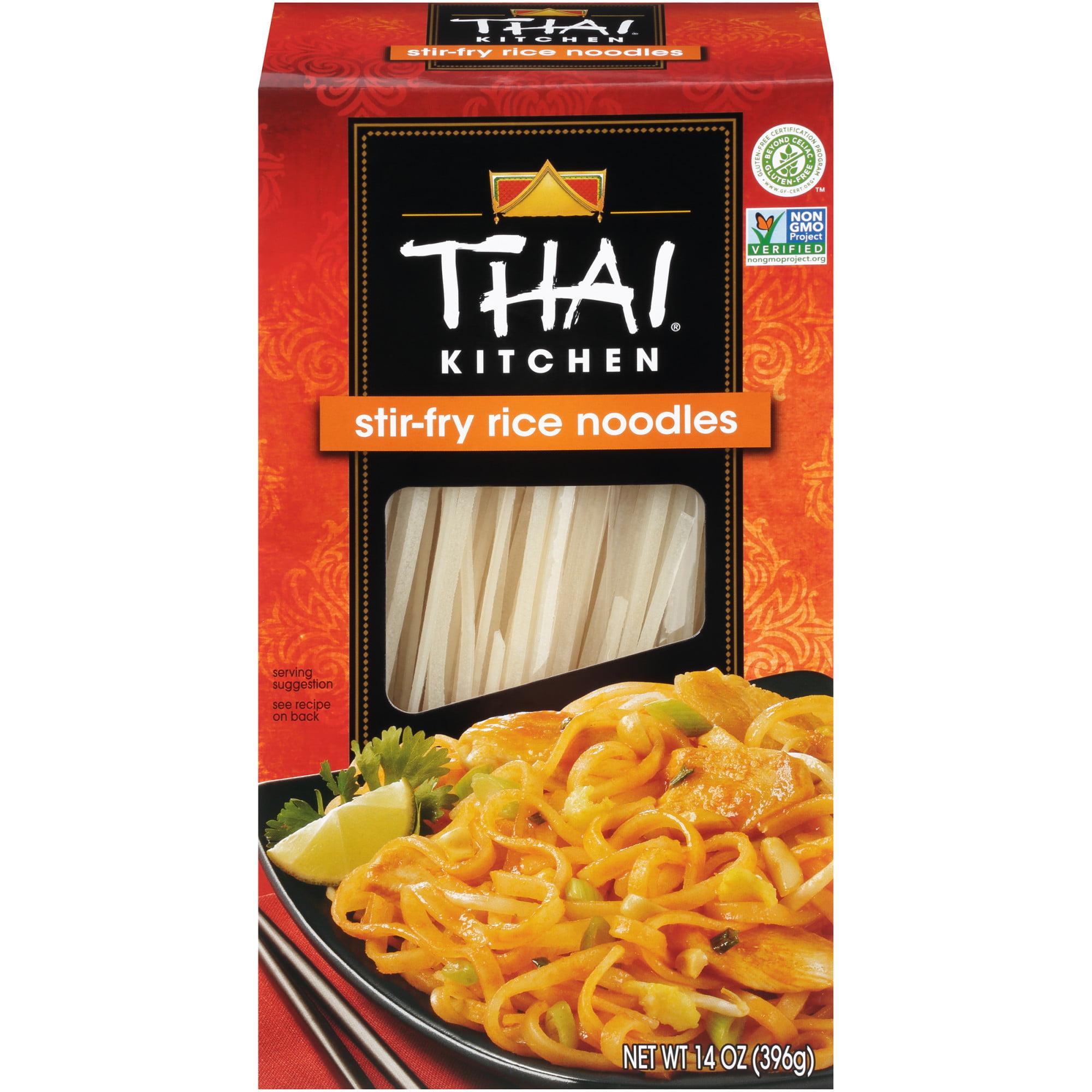 Thai Kitchen Gluten Free Stir Fry Rice Noodles 14 Oz Walmart Com Walmart Com