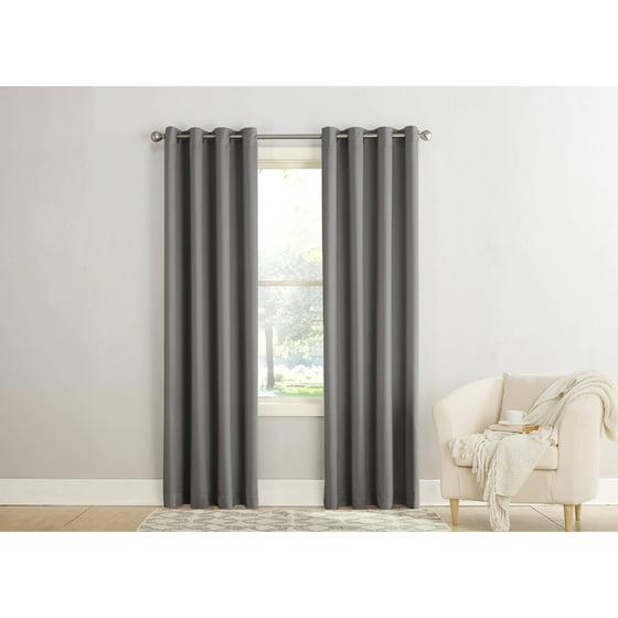 Sun Zero Madison Room Darkening Grommet Curtain Panel