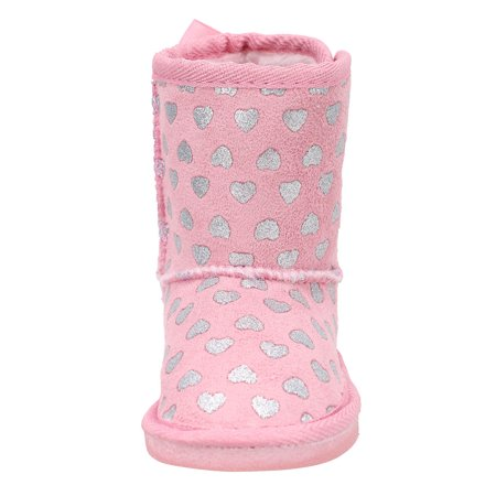 41cb872a38d Simplicity - Kids Girls Toddler Winter Boots Faux Fur Lined Outdoor Winter  Boots 8 US - Walmart.com