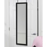 Mirrotek Over The Door Wall Mounted Full Length Dressing Mirror Image 2 Of 6