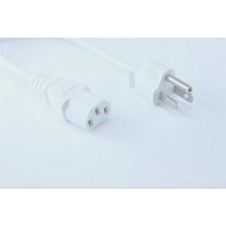 Hdmi Vga Card - OMNIHIL (8FT) AC Power Cord for BenQ GW2760HS 27-inch FHD 1920x1080 HDMI VGA LED Monitor - White