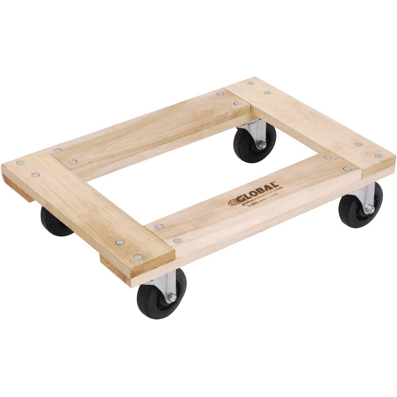 Hardwood Dolly - Open Deck, 24 x 16, 1200 Lb. Capacity, Lot of 1