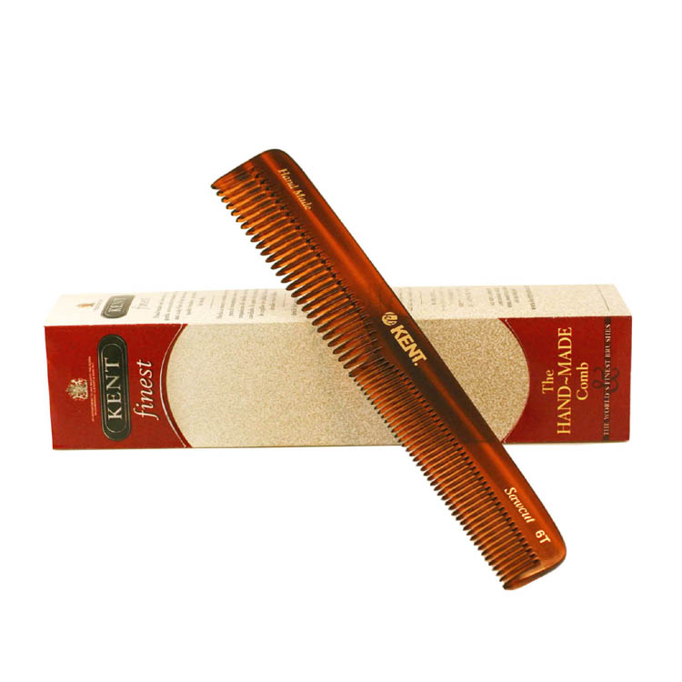 Kent The Hand Made Comb Coarse-fine 6.5 Inches Comb 6t for Men by Kent