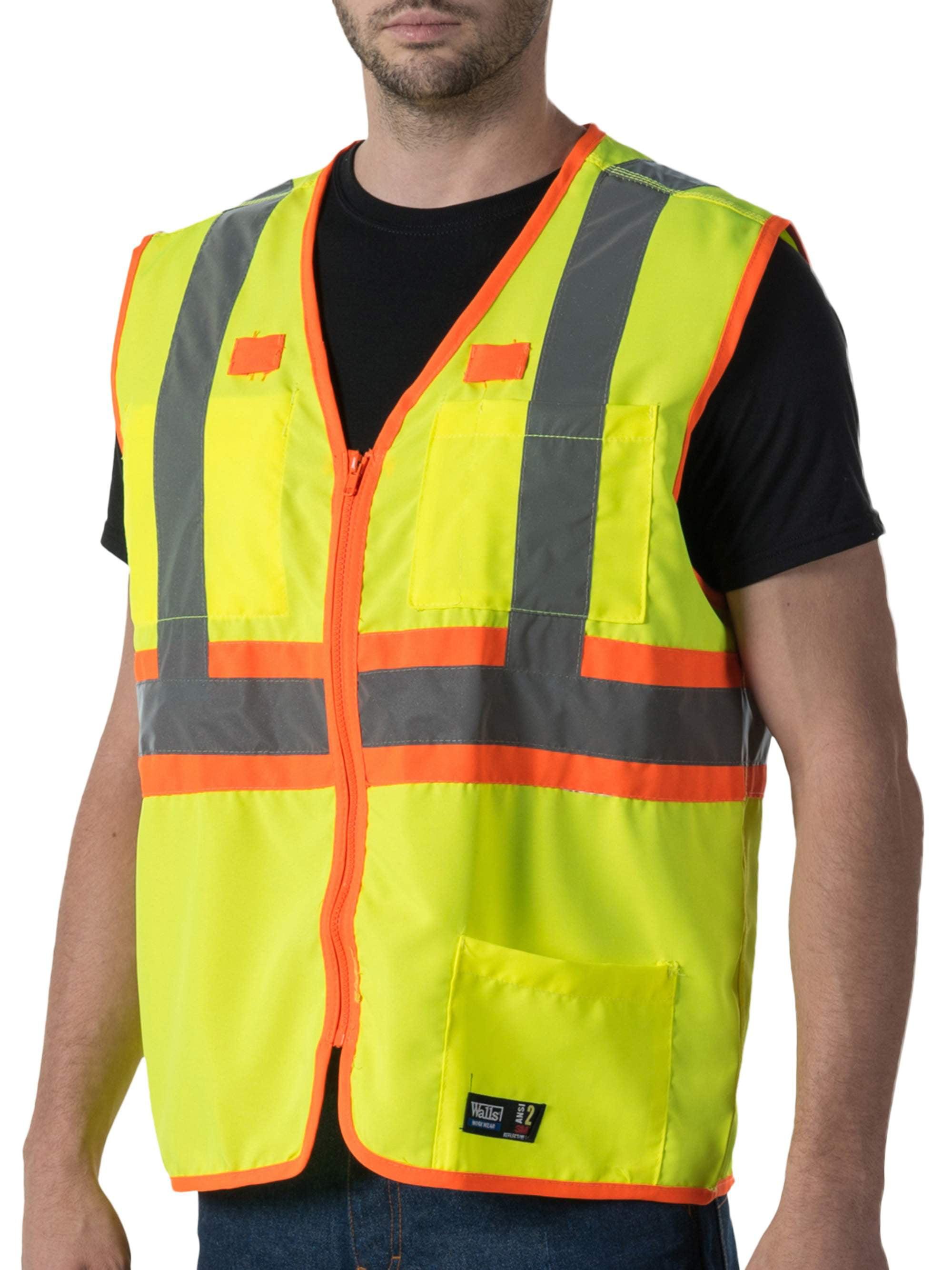 Men's Premium ANSI 2 High Visibility Safety Vest
