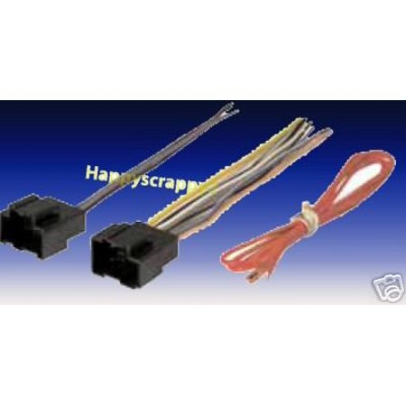 stereo wire harness saturn vue 06 2006 car radio wiring. Black Bedroom Furniture Sets. Home Design Ideas